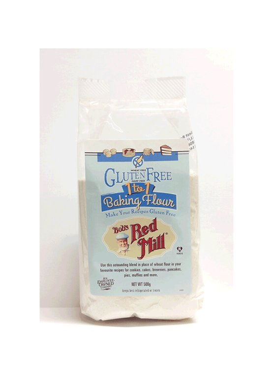 Bob's Red Mill gluten free baking flour 1 to 1 in a packaging of 500g